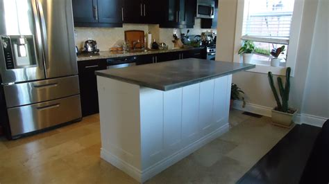 kitchen island counters building a kitchen island small space style