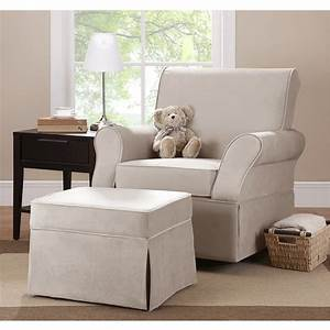 Dorel, Kelcie, Swivel, Glider, Chair, With, Ottoman, Multiple, Colors