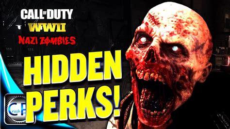 zombies perks war call duty