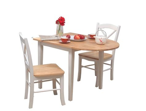 furniture kitchen table 3 dining set white small drop leaf kitchen table