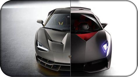 Lamborghini Centenario Vs Lamborghini Sesto Elemento