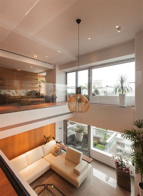 High Ceiling Living Room by Living Room Modern High Ceiling Living Room With