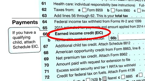 Claim The Earned Income Tax Credit
