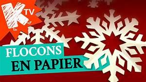 Flocon De Neige En Papier Facile Maternelle : flocons de neige en papier youtube ~ Melissatoandfro.com Idées de Décoration