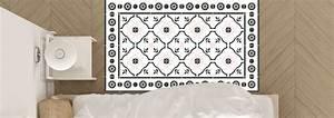 Tapis En Vinyle : tapis en vinyle motifs carreaux de ciment nozarrivages ~ Teatrodelosmanantiales.com Idées de Décoration