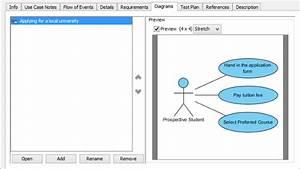 Documenting Use Case Details In Visual Paradigm