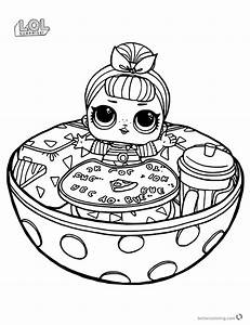 Funny Lol Surprise Doll Coloring Pages