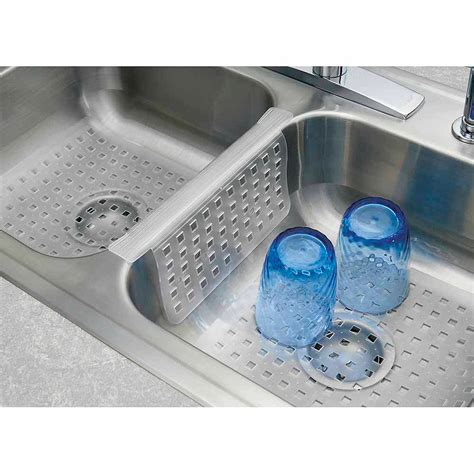 sink protector mats walmart rubbermaid large sink mat in white walmart