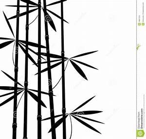 Bambou Noir Prix : bambou noir et blanc illustration de vecteur illustration du japan 18897225 ~ Teatrodelosmanantiales.com Idées de Décoration