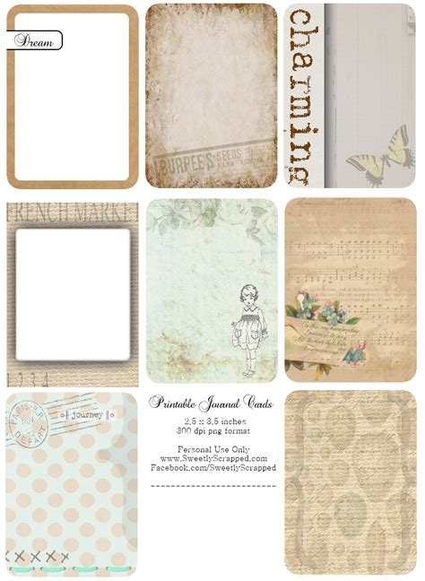 printable journal cards flickr photo sharing