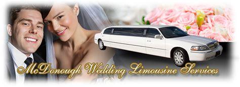 Wedding Limousine Services by Mcdonough Wedding Limo Service Mcdonough Ga Wedding