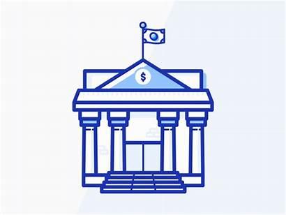 Bank Build Building Animation Dribbble Steps Friends