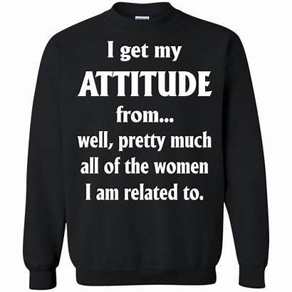 Attitude Hoodie Tank Allbluetees Choose