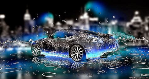 wallpaper widescreen water cars  hd wallpapers