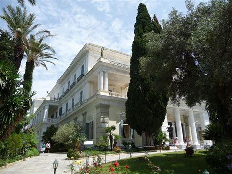 villa delisabeth dautriche dite sissi corfou grece