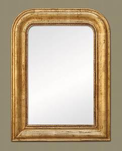Miroir Doré Ancien : miroir louis philippe bois dor ~ Teatrodelosmanantiales.com Idées de Décoration