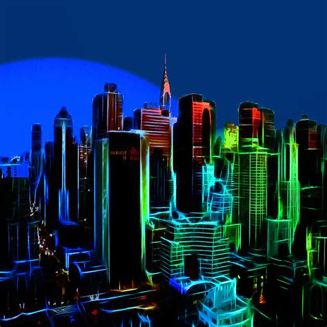 new york colors new york colors painting by steve k