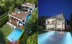 design a house pictures viennas schafberg garden house with minimalist interior