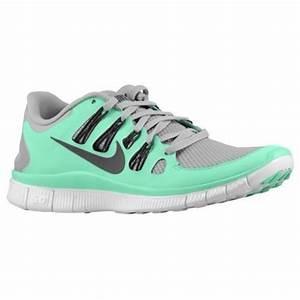 Shoes: nike free 5.0 womens running shoes grey/mint green ...
