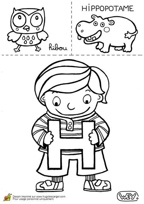 coloriages  imprimer lettre  numero