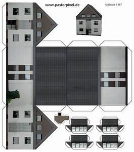Haus Aus Pappe Basteln : ausschneidebogen haus 1 printables houses bastelarbeiten aus papier und pappe ~ A.2002-acura-tl-radio.info Haus und Dekorationen