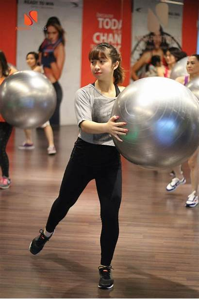 Ball Fitness English Class March Age Flexible