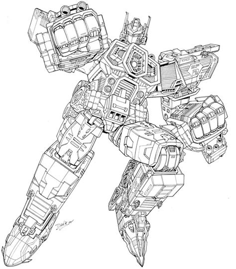 transformer coloring pages  kids