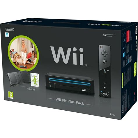 Nitendo Wii Console by Official Nintendo Wii Console Wii Fit Plus Pack Aus Pal