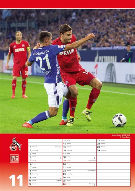 Maybe you would like to learn more about one of these? Alle Motive: Jubel & Action im neuen 1. FC Köln-Kalender ...