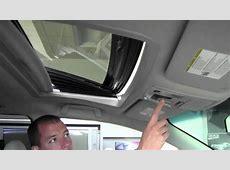 2011 Toyota Sienna Power Tilt And Slide Moonroof