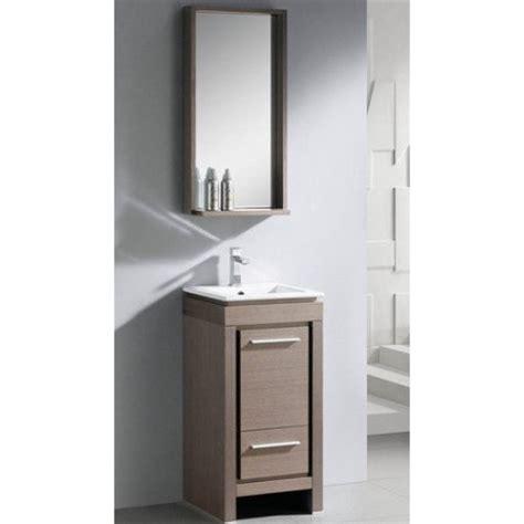 fresca allier 16 single small modern bathroom vanity set