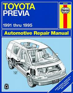 Toyota Previa Repair Manual Pdf