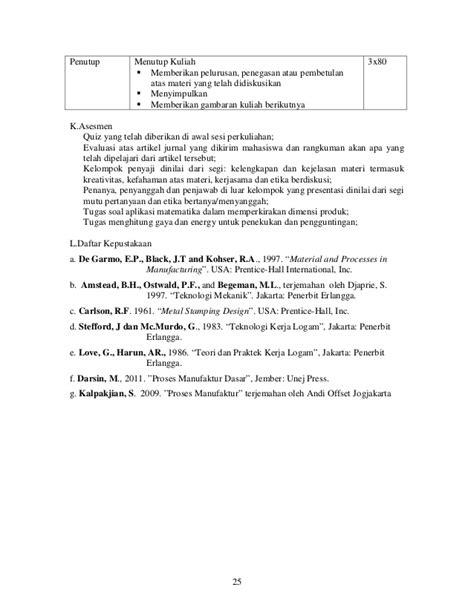 Contoh Jurnal Tugas Kuliah - How To AA