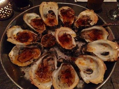 Caracol's Griled Oysters, Pretty Dry  Picture Of Caracol