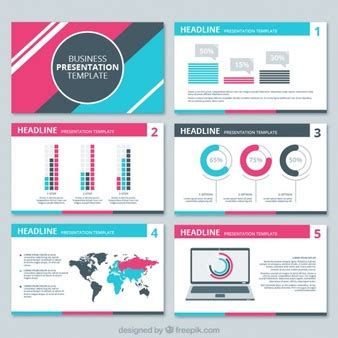 graphic design presentation powerpoint vectors photos and psd files free