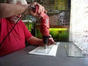 Comment Couper Du Verre : percer du verre youtube ~ Preciouscoupons.com Idées de Décoration