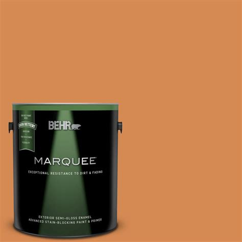 behr marquee 1 gal 260d 5 wave gloss enamel exterior paint and primer in one 545301