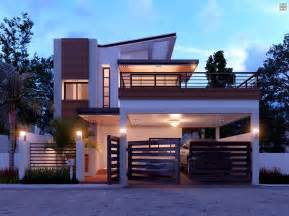 Spectacular Two Story Homes Designs by Duplex Contemporary House With A Terrace Amazing