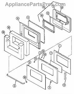Whirlpool 5700a082-60 Window Assembly