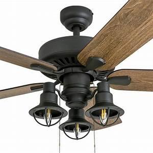 Farmhouse, Ceiling, Fan, Light, Fixture, Rustic, Chandelier, Lighting