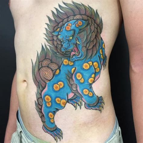japanese lion tattoos designs ideas