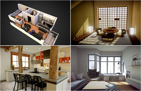 home design for beginners 7 exles of how to show interiors in your 3d models
