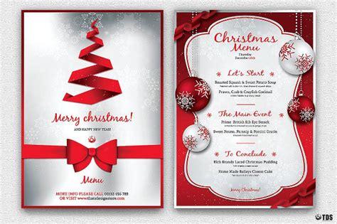 sample christmas menu templates word psd ai