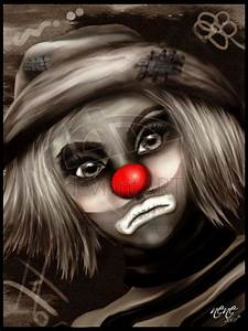 Sad clown by nene77 on DeviantArt