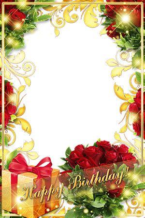 marcos de fotos roses   birthday