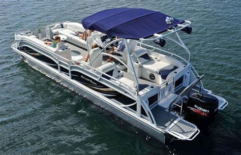 Pontoon With Wakeboard Tower For Sale by Harrison Idaho Water Adventures Pontoon
