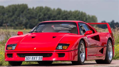 F40 Cost by Nigel Mansell S F40 Sells For 870k Autoblog