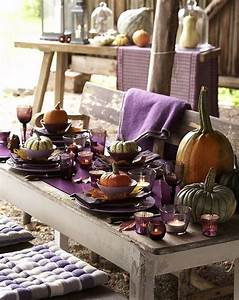 Pinterest Decoration : great purple thanksgiving table decorations ~ Melissatoandfro.com Idées de Décoration