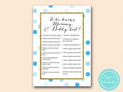 Prince Gold And Blue  Ee  Baby Ee    Ee  Shower Ee    Ee  Game Ee   Printable Magical