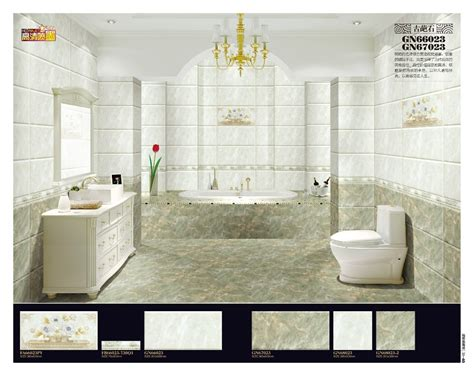 Bathroom Wall Border Tiles With Fantastic Styles In